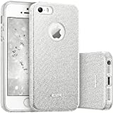 esr Coque pour iPhone SE/5s/5, Coque Silicone Paillette Strass Brillante Glitter de,...