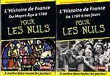 L'histoire de france pour les nuls - Tomes 1 & 2 (du moyen âge à 1789 + de 1789 à nos jours) format poche