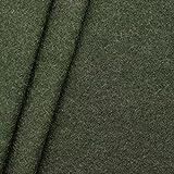 100% Wolle Walkloden Stoff Meterware Jäger-Grün