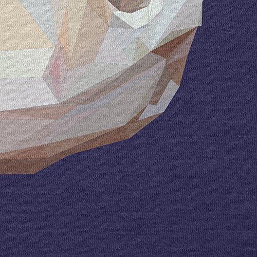 TEXLAB - Poly Snake - Damen T-Shirt Navy