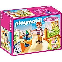 Playmobil Baby Room with Cradle Habitación del bebé, Color (5304)