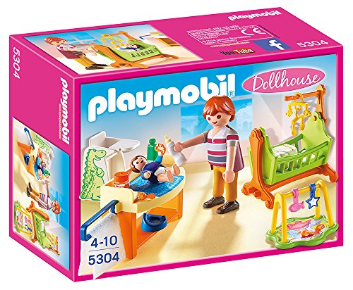 Playmobil- Baby Room with Cradle Habitación bebé