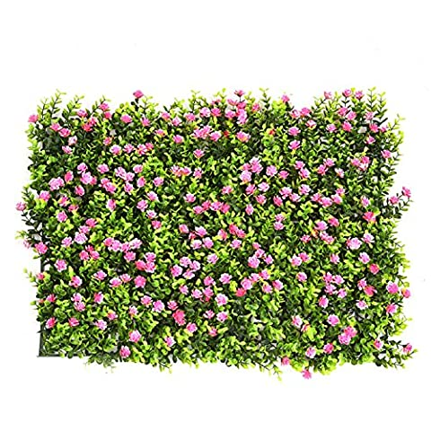 Artificial Boxwood Hedge Artificial Plant Grass Flower Leaf Hedge for