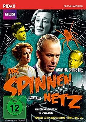 Agatha Christie: Das Spinnennetz (The Spider's Web) / Packende Agatha Christie-Verfilmung (Pidax Film-Klassiker)