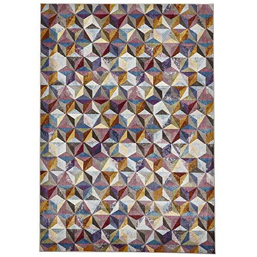 HomeLinenStore Designer-Stil Super Soft Superior Qualität Prism Muster bunt Multi Teppiche in verschiedenen Größen, Polypropylen, Multi, 160 x 230 cm - Prism Multi Teppich