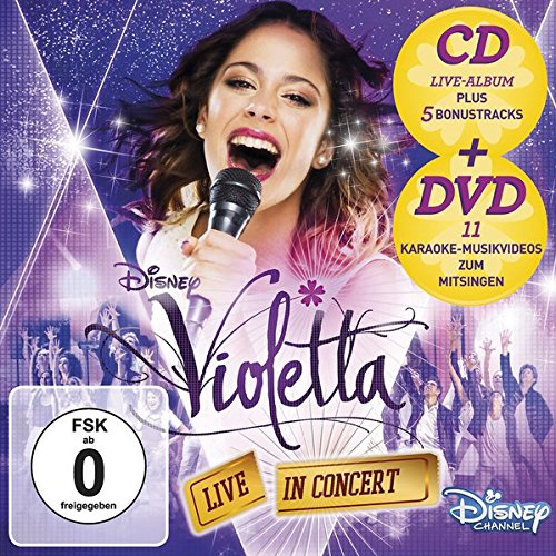 Violetta - Live In Concert - Deluxe Edition (Der Original-Soundtrack zur TV-Serie - Staffel 2, Volume 2 ) (Disney Dvd Violetta)