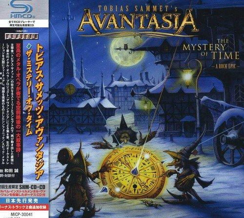 Tobias Sammet'S Avantasia: Mystery of Time [+Bonus CD] (Audio CD)