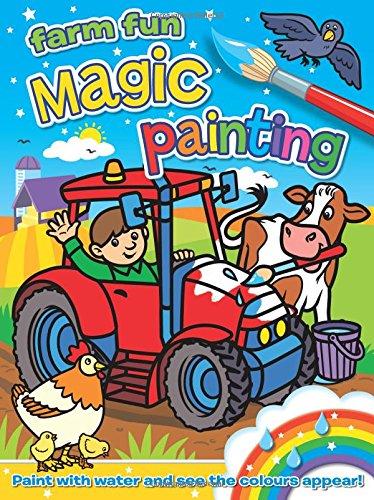Magic Painting - Farm Fun (Book Painting Magic)