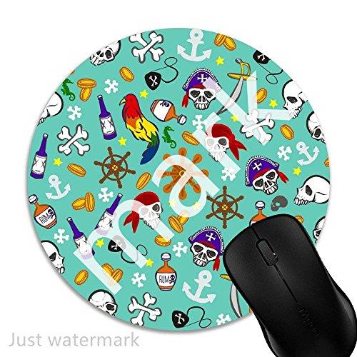 ei,7 inch rund Mouse-Pad mit rutschfester Unterlage Standard 1V2252 ()