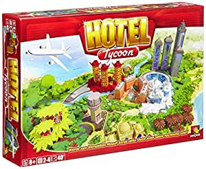 Asmodee 001919 – Hotel Tycoon, Brettspiel