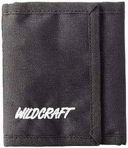 Wildcraft Wiki Chrome Tri-fold Black Mens Wallet (8903338522102)