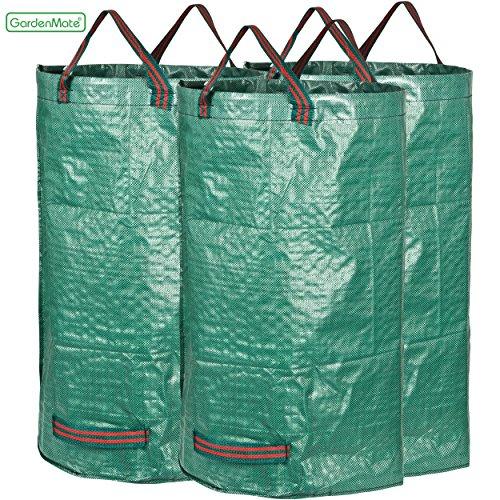 GardenMate® 3x Set | Gartenabfallsack | Gartensack | Laubsack