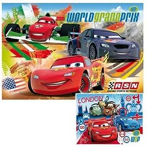 Clementoni - 24719.6 - Puzzle - 2x20 PC - Cars 2