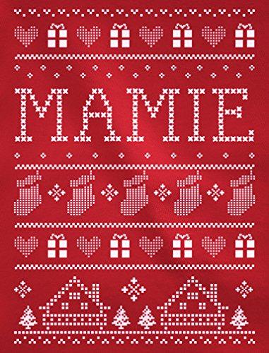 Green Turtle T-Shirts Impression de Noël pour Mamie haut décliné famille T-shirt Manches longues Femme Vert