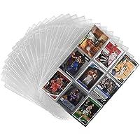 Porte Carte Pokemon,Paquet de Carte Album pour Cartes à Collectionner,540 Pochettes, Transparents Paquet de Carte Album…