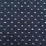 Japanische Baumwolle Print–Triangle Indigo (Hälfte)