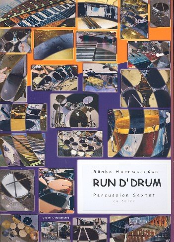 Run d'drum: for 6 or more percussionists