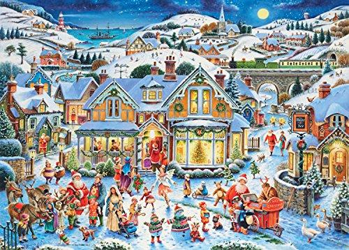 Ravensburger-Which-Ones-Santa-Puzzle-limitierte-Ausgabe-2017-1000-Einzelteile