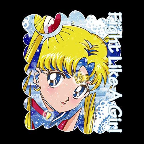 Cloud City 7 Fight Like A Girl Moon Ombra Sailor Moon Women's Vest Black
