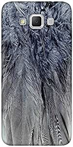 Snoogg Feathers 2 Texture Solid Snap On - Back Cover All Around Protection Fo...