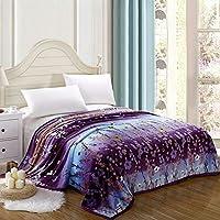 HHYWS Morbido e caldo buttare letto divano buttare spessa coperta