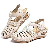 Sandali Donna Pantofole Estive Zoccoli Comode Moda Plateau Chiuso Scarpe da Lavoro Ciabatte All'aperto Wedges Mules…