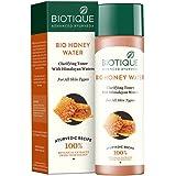 Biotique Bio Honey Water Clarifying Toner, 120ml