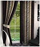 Kanha 4 Piece Polyester Floral Window Cu...