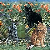 In The Garden - Katzen im Garten - Puzzle - 1000 Teile