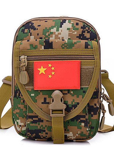 ZQ 5 L Umhängetasche Multifunktions Armeegrün Terylen acu color