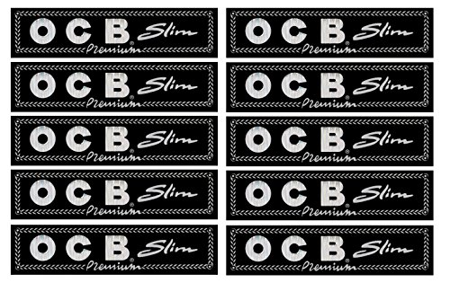 OCB Premium Slim Papers 10 x 32 Blättchen -