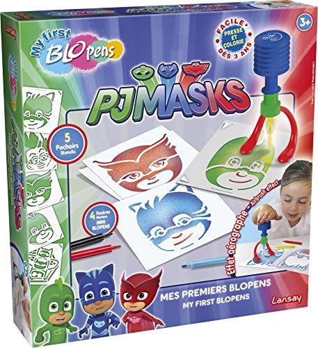 Lansay- Crayons de Couleur My First Blopens pyjamasques, 23602