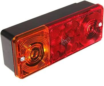 1 Anhänger 3-Kammer Leuchte Rücklicht Bremslicht