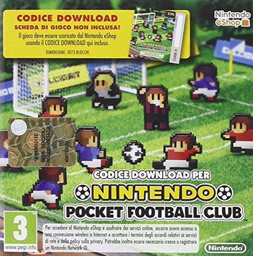 Nintendo Pocket Football CLUB 3DS Scheda di gioco