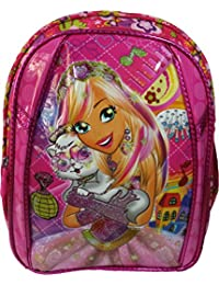 Barbie Disney Cinderella Frozen Anna Elsa Sofia Pink School Bag For Girls For Class Standard Playschool Kindergarten...