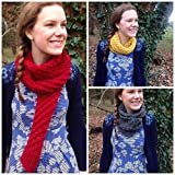 7 Chunky Scarf Knitting Patterns (Easy Weekend Project): Easy-to-follow chunky scarf, infinity scarf and neck warmer patterns - knit a scarf in a weekend (English Edition)