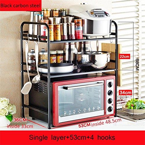 mobili-da-cucina-acciaio-inossidabile-cucina-scaffalature-forno-a-microonde-mensola-forno-cremaglier