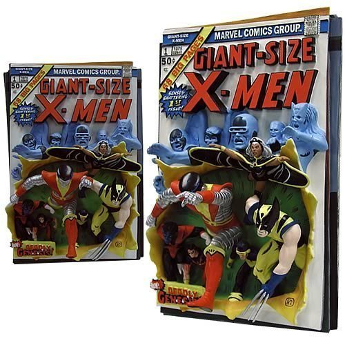 Giant Size X-Men Resin 3D-Poster First Apperance Comic Cover (Giant X-men)