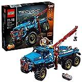 LEGO Technic 42070 - Camion Autogrù 6x6, Multicolore, 63 cm