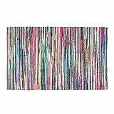 Homescapes Chindi Flickenteppich Läufer 120 x 180 cm Bunt aus