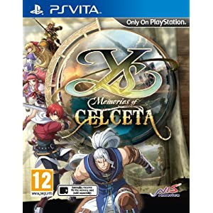 Ys: Memories of Celceta PSV UK