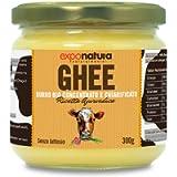Ghee biologico 300g - burro chiarificato secondo l'antica ricetta Ayurvedica - solo da latte di mucche al pascolo…