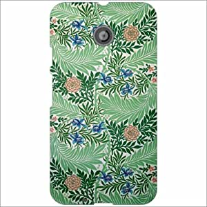 Moto E (2nd Gen) 4G Back Cover - Ship Designer Cases