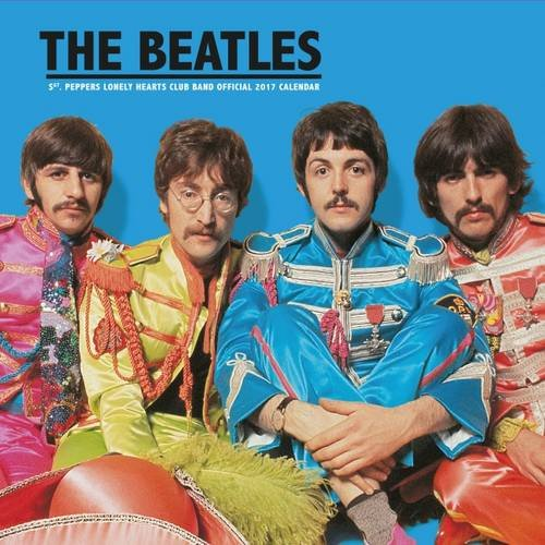 Unknown The Beatles Official 2017 Square Calendar - Square 305x305mm Wall Calendar 2017