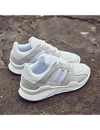 LIANGJUN Zapatillas Plano Zapatos De Mujer Tacones Bajos Deportes Al Aire  Libre 74195305384b