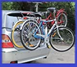 3 Bike Carrier Rear Mounted Car Cycle Carrier Rack for RENAULT CLIO 98-01