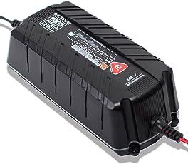 ECTIVE KFZ Batterieladegerät 12V 8A 9 Stufen Vollautomatisch | 4 und 8 Amp IUoU Ladegerät Auto und Motorrad Batterie