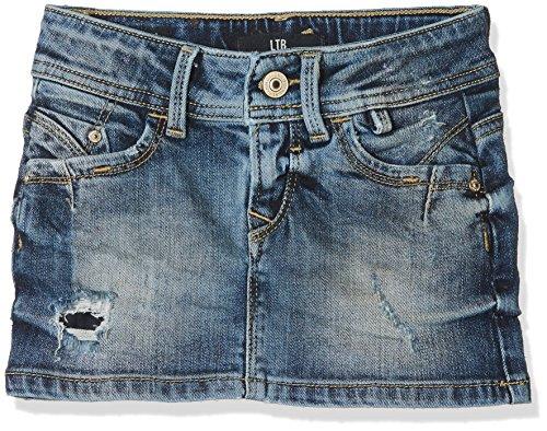 LTB Jeans Mädchen Rock Adrea G, Blau (Ilya Wash 50634), 116 (Herstellergröße: 6)