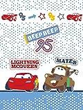 Cars Babydecke Jungen kuschelige Kuscheldecke Baby 75x 100cm Flash McQueen und Mater