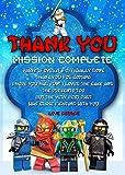 Best LEGO Buddies - LEGO Ninjago–fiesta de cumpleaños tarjetas de agradecimiento X8 Review